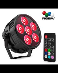 Mini Discolamp Led 4 kleuren RGBW led met afstandsbediening