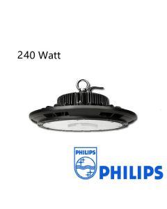 Led High Bay UFO 240W Dimbaar met Philips driver 125L/W IP65