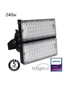 Stadionverlichting Led 240Watt Bridgelux Chip 240L/W 40º Floodlight