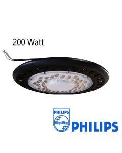 LED UFO High Bay met Antiverblindingslens 200W met Philips SMD 100L/W IP65