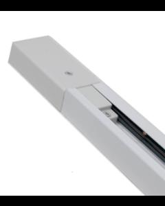 1-Fase Spanningsrail 150cm Wit 230V Opbouw