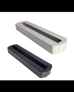 Base voor Tracklight Railsysteem zwart/wit