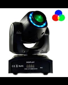 Roterende Discolamp Mobiel wit+ 7 kleuren reageert op geluid en DMX systeem